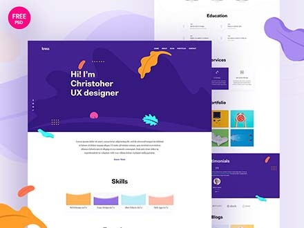 Kross Creative Portfolio Website Template