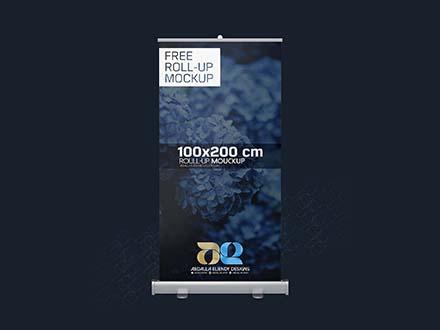 100×200 CM Rollup Mockup