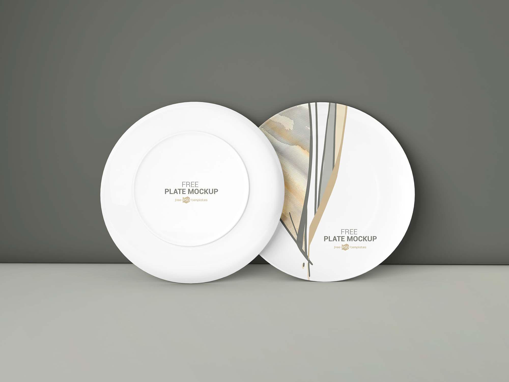 2 Plate Mockups