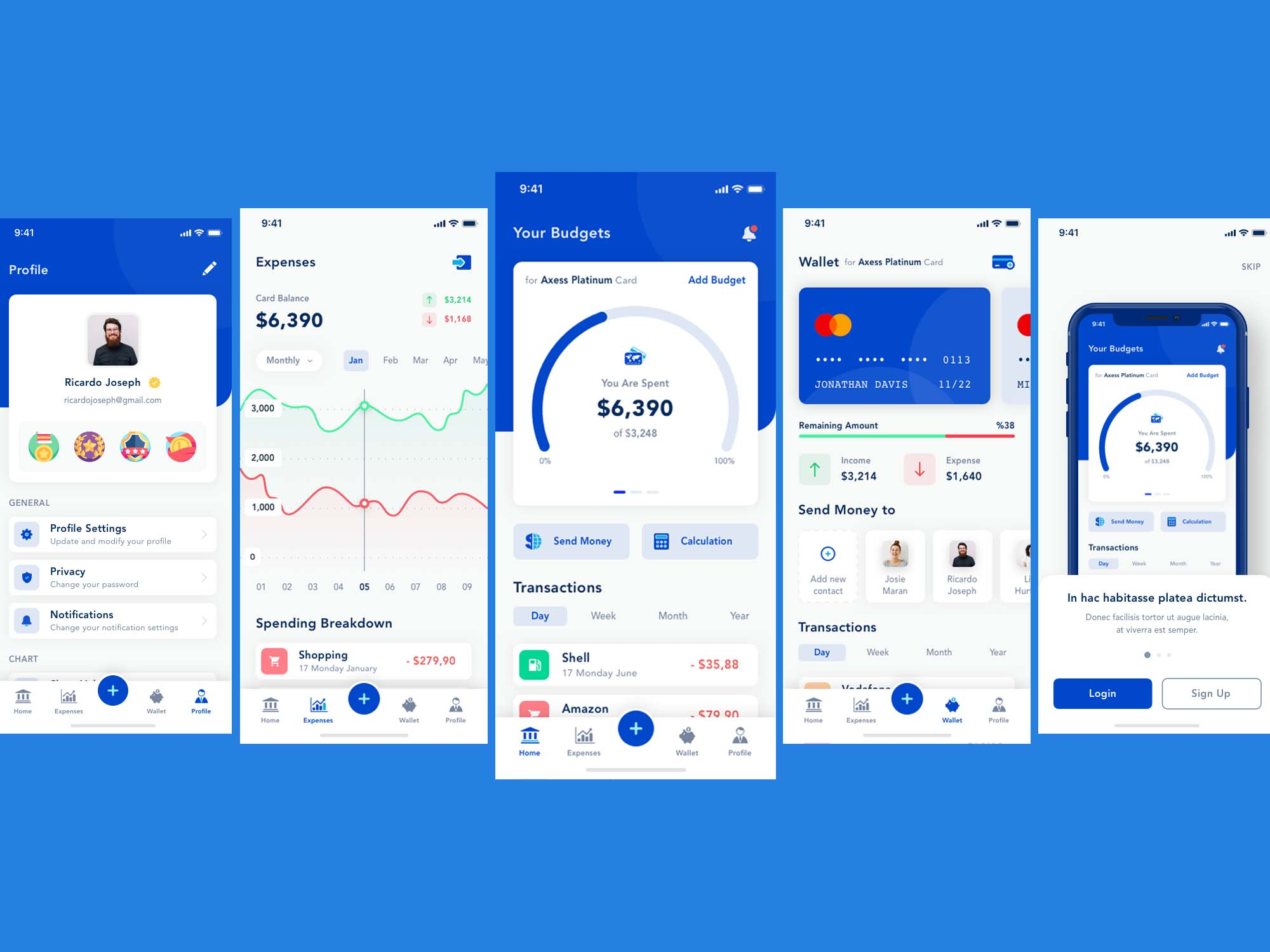 Bank App Template 2