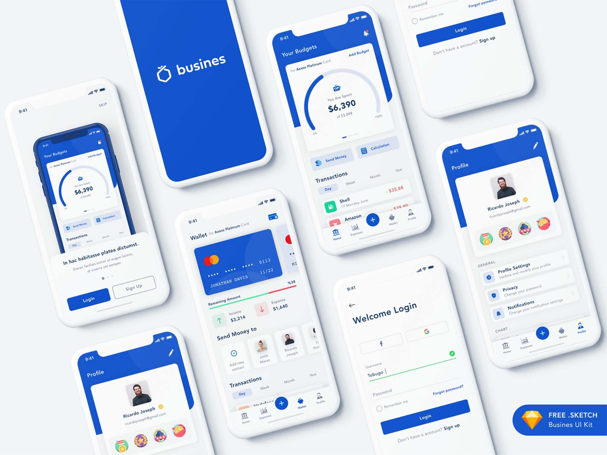 Bank App Template