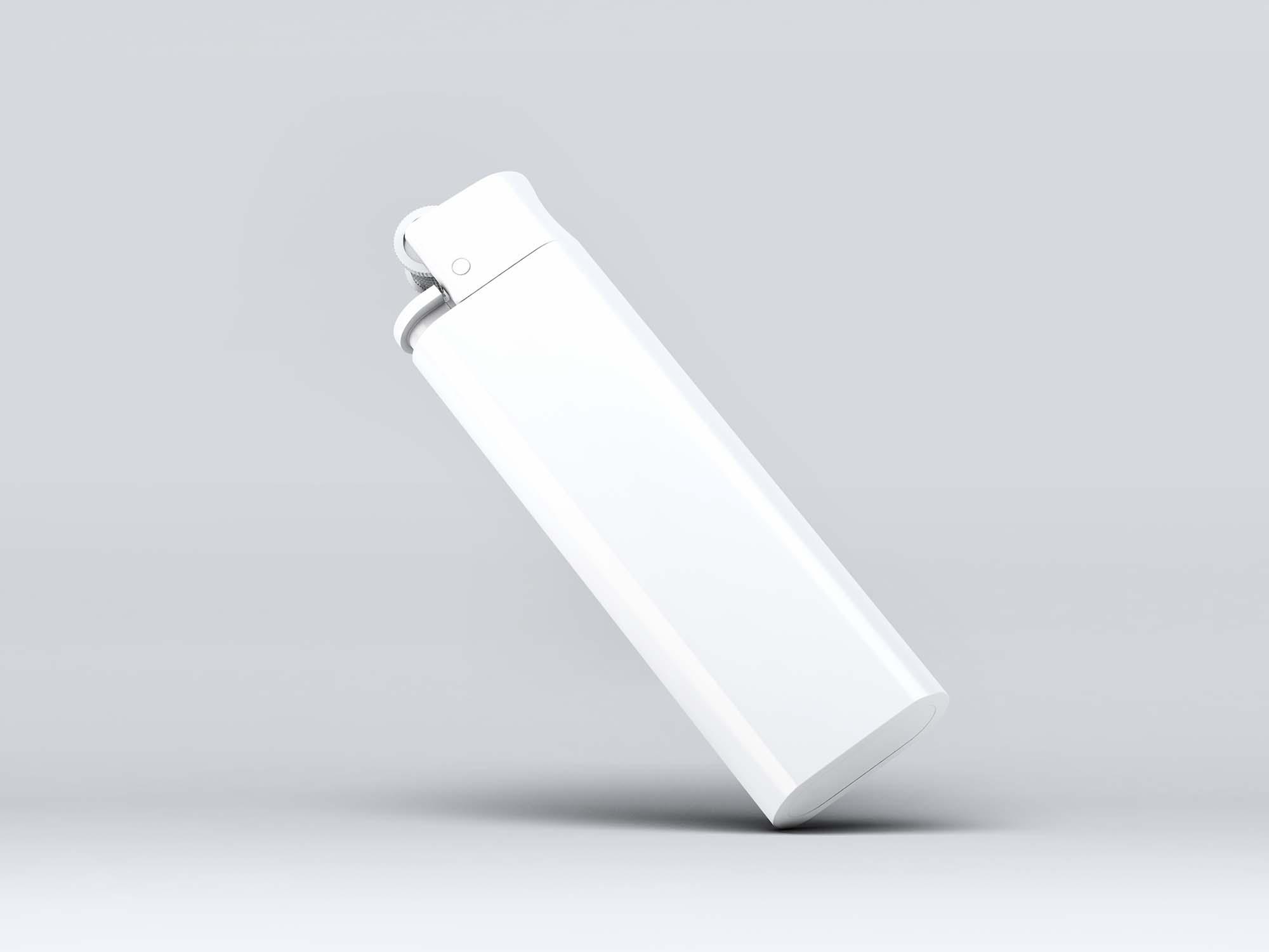 Bic Lighter Mockup 2