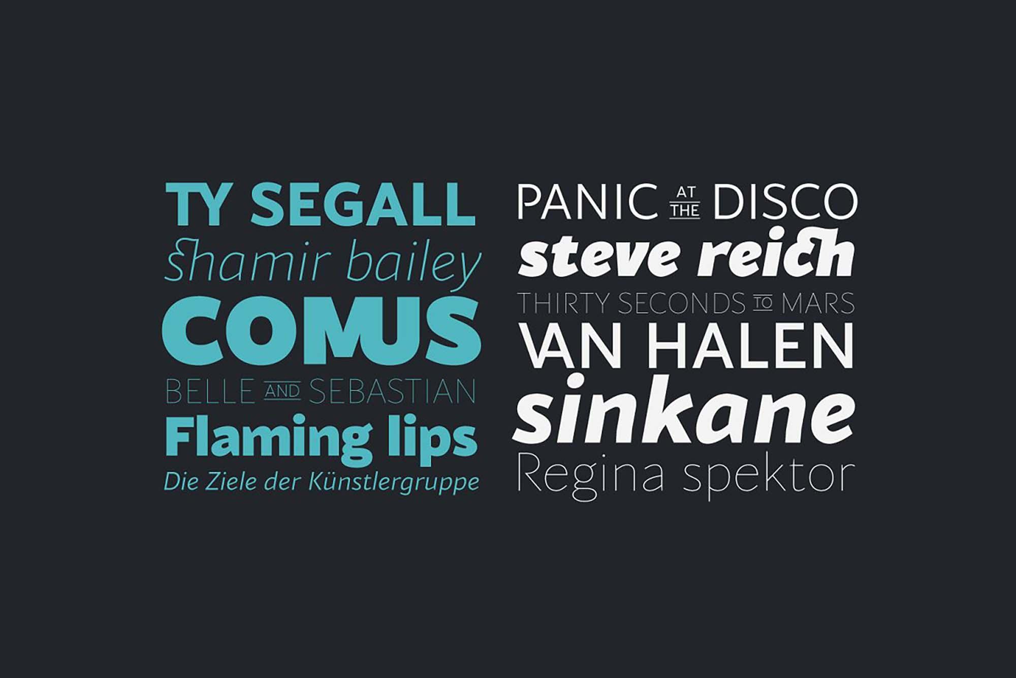 Blacker Sans Font Family 9