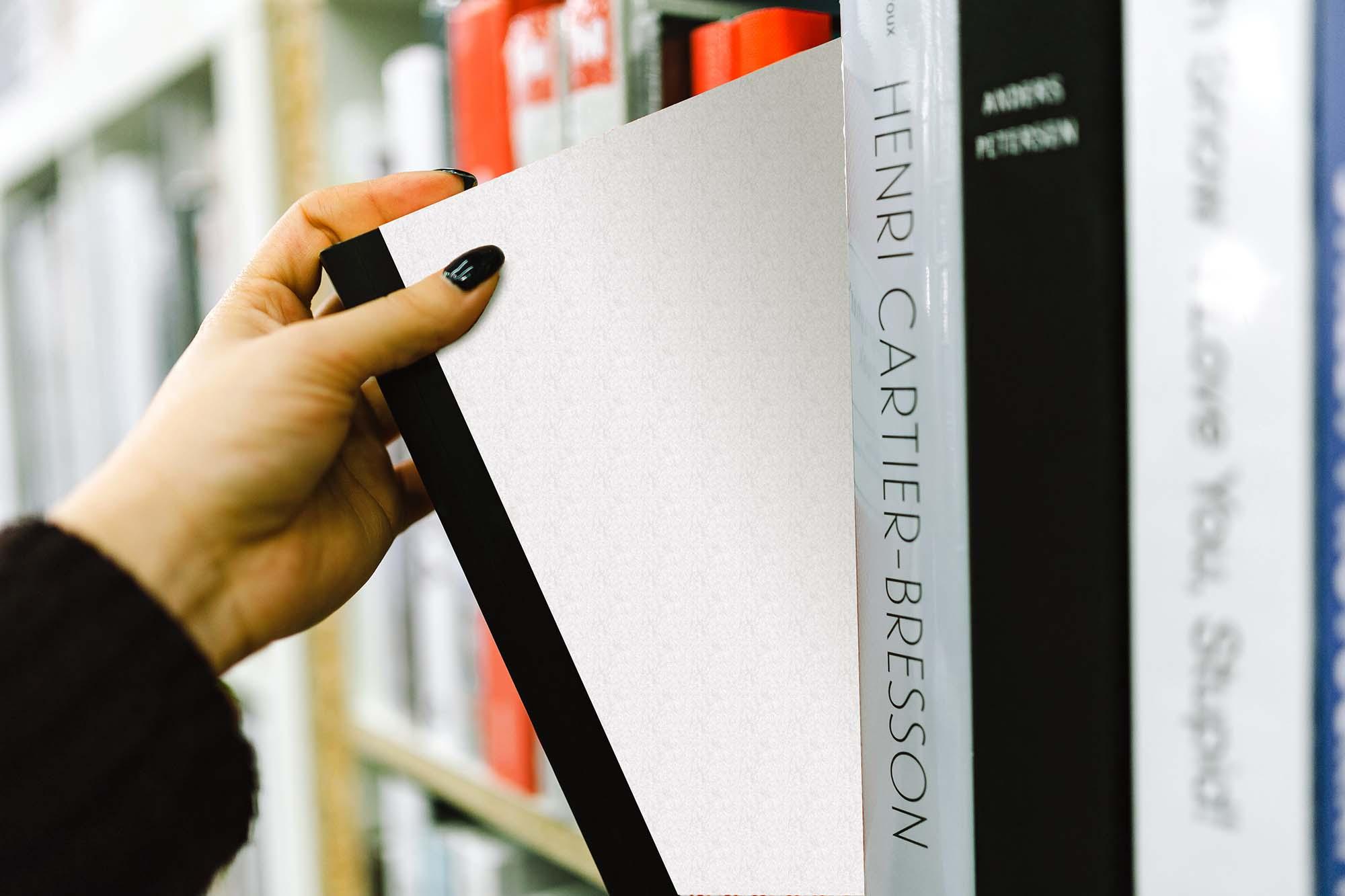 Book on Shelf Mockup 2