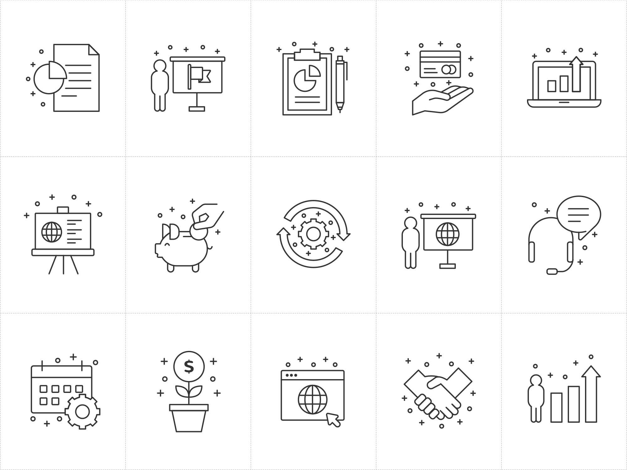 Business Vector Icons 2