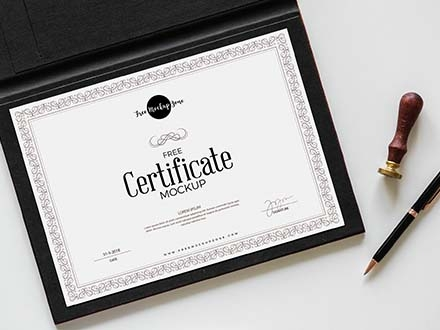 Certificate Mockup
