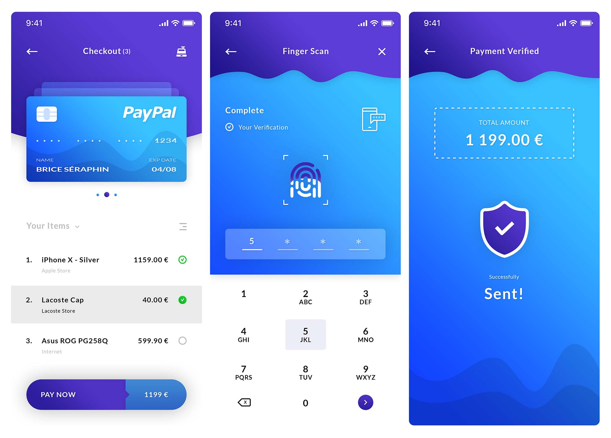 Checkout and Payment Verification App Template