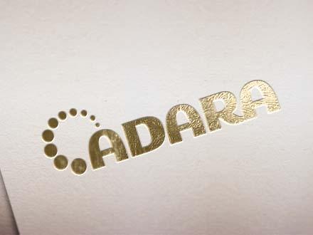 Classy Gold Foil Logo Mockup