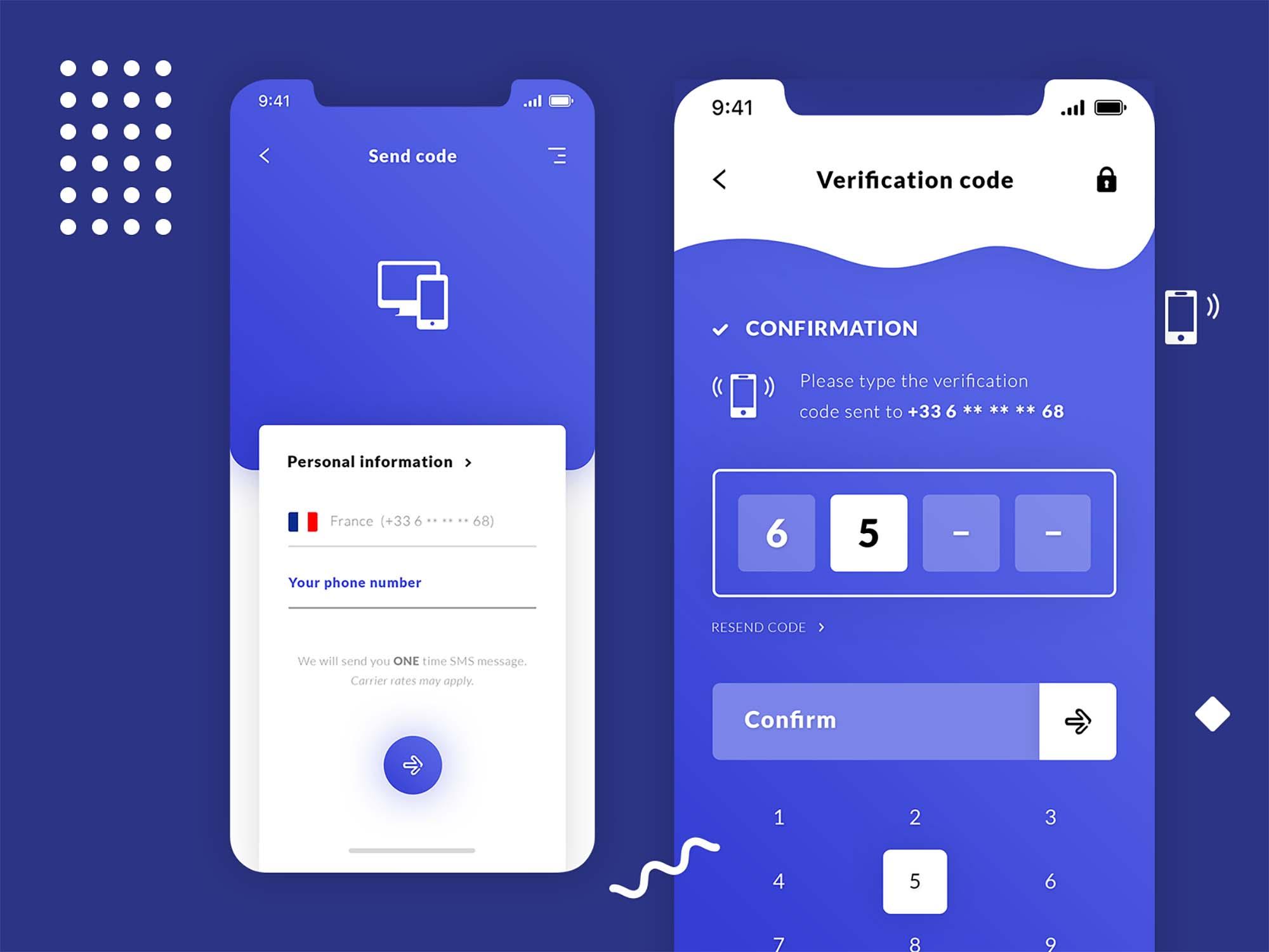 Code Verification App Template