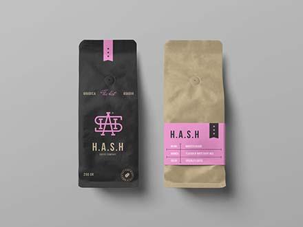 Coffee Bags Mockups