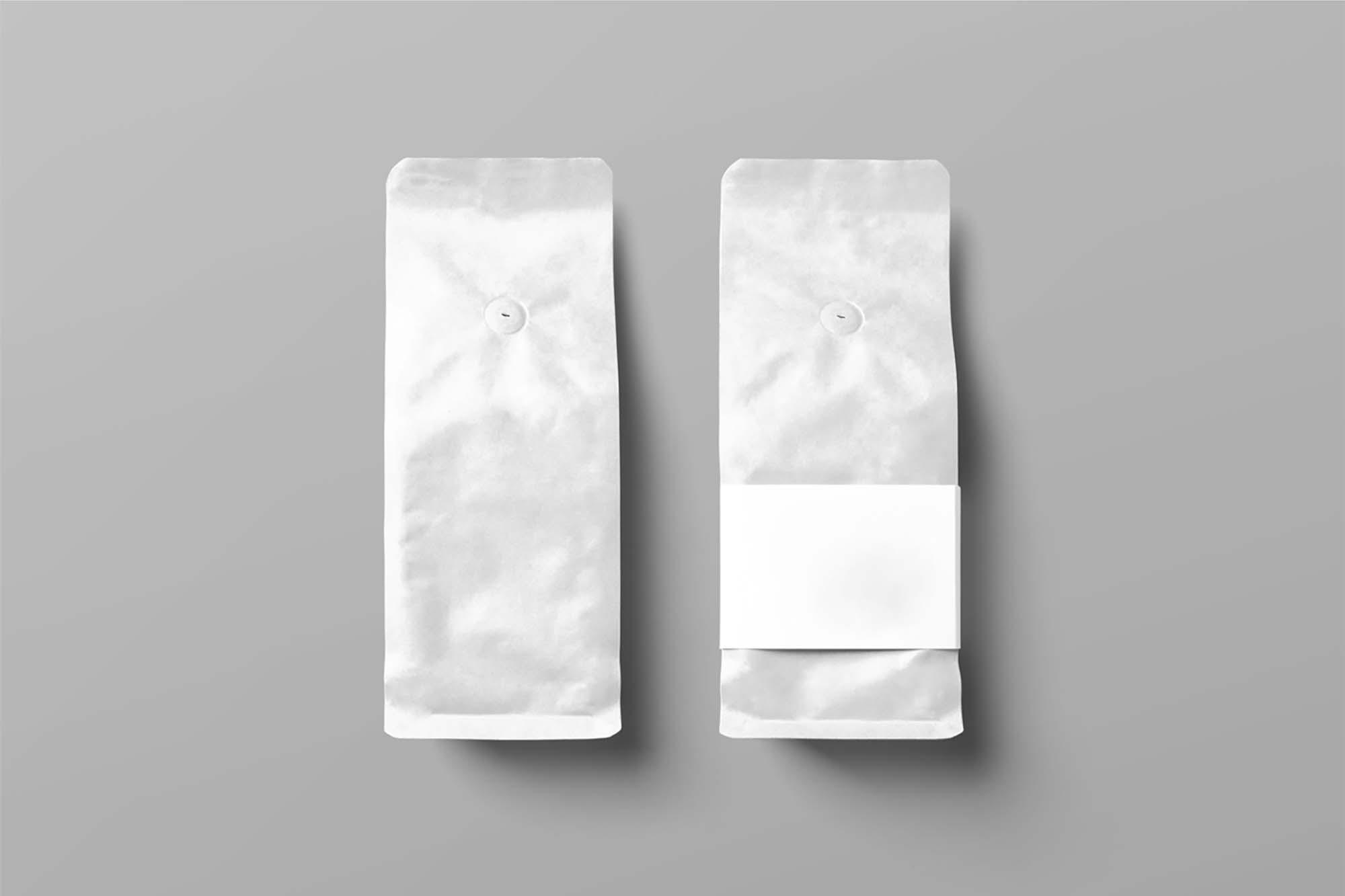 Coffee Bags Mockups 2