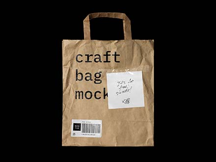 Craft Bag Mockup