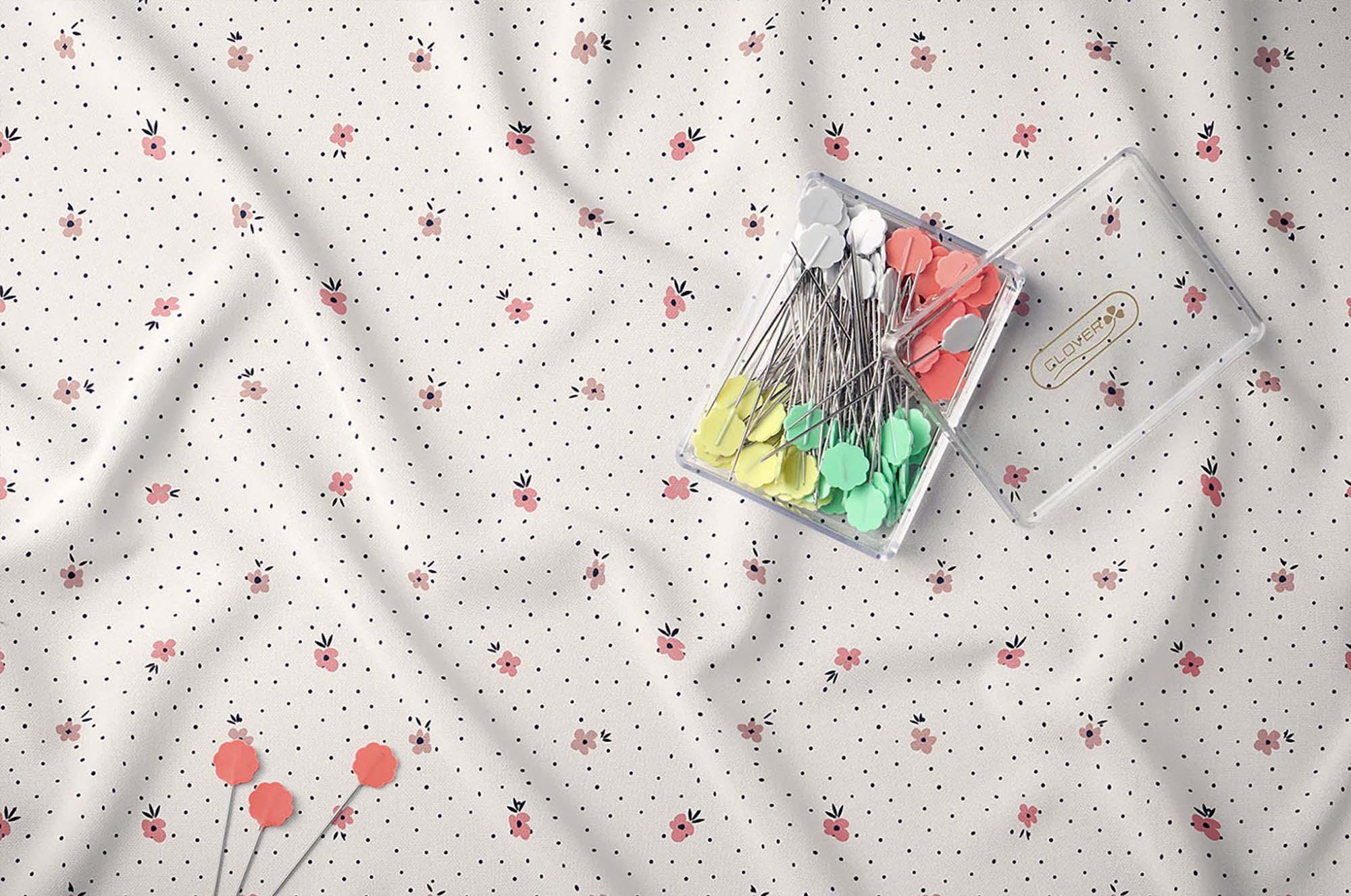 Creased Fabric Mockup