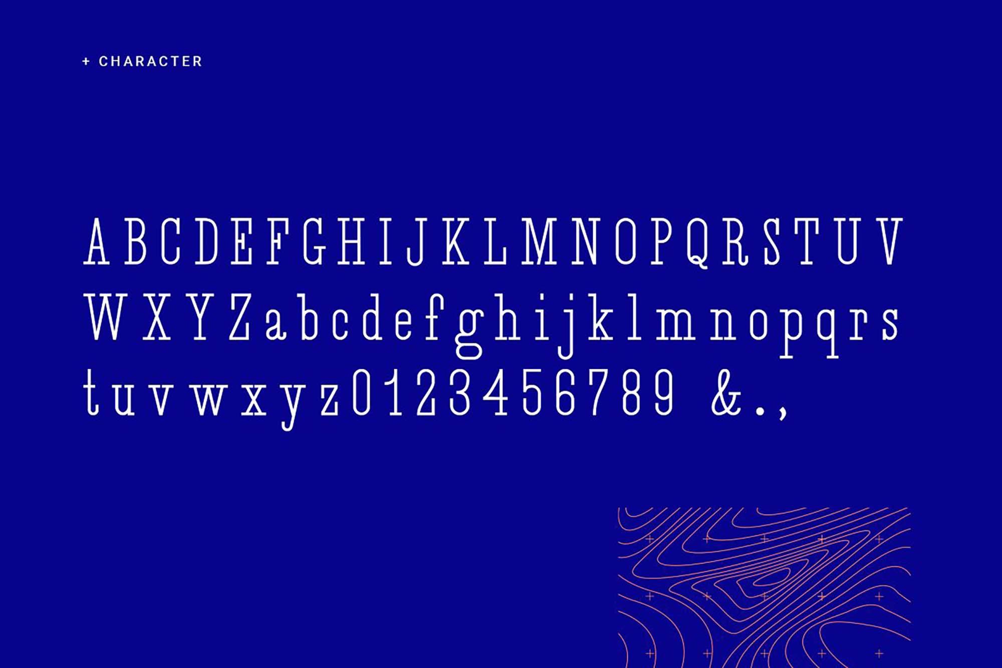 Desuka Slab Font Letters