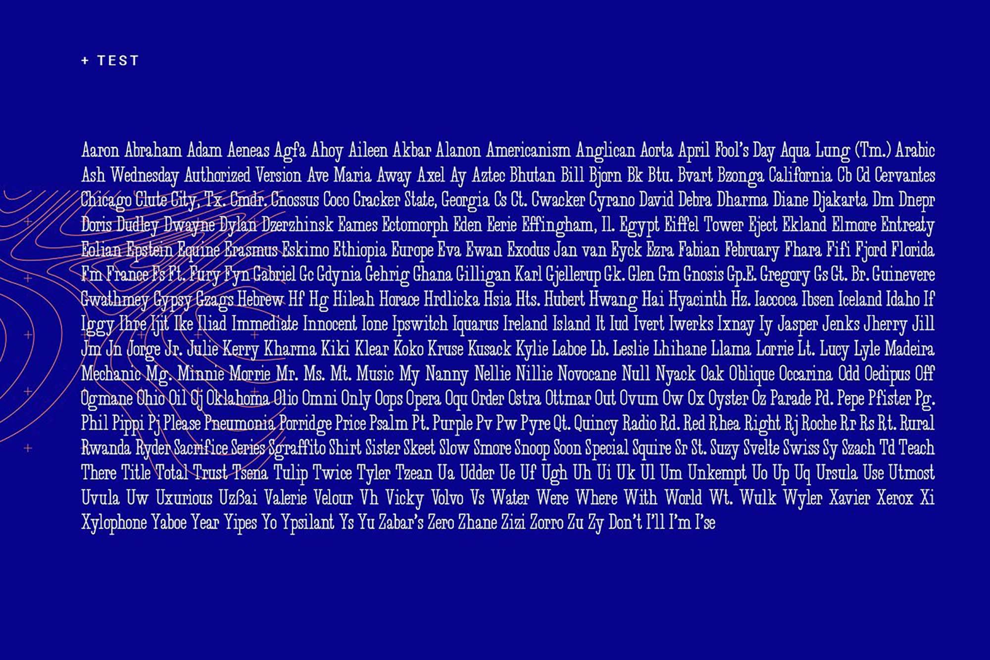 Desuka Slab Font Text