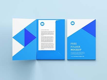 Folder Mockup