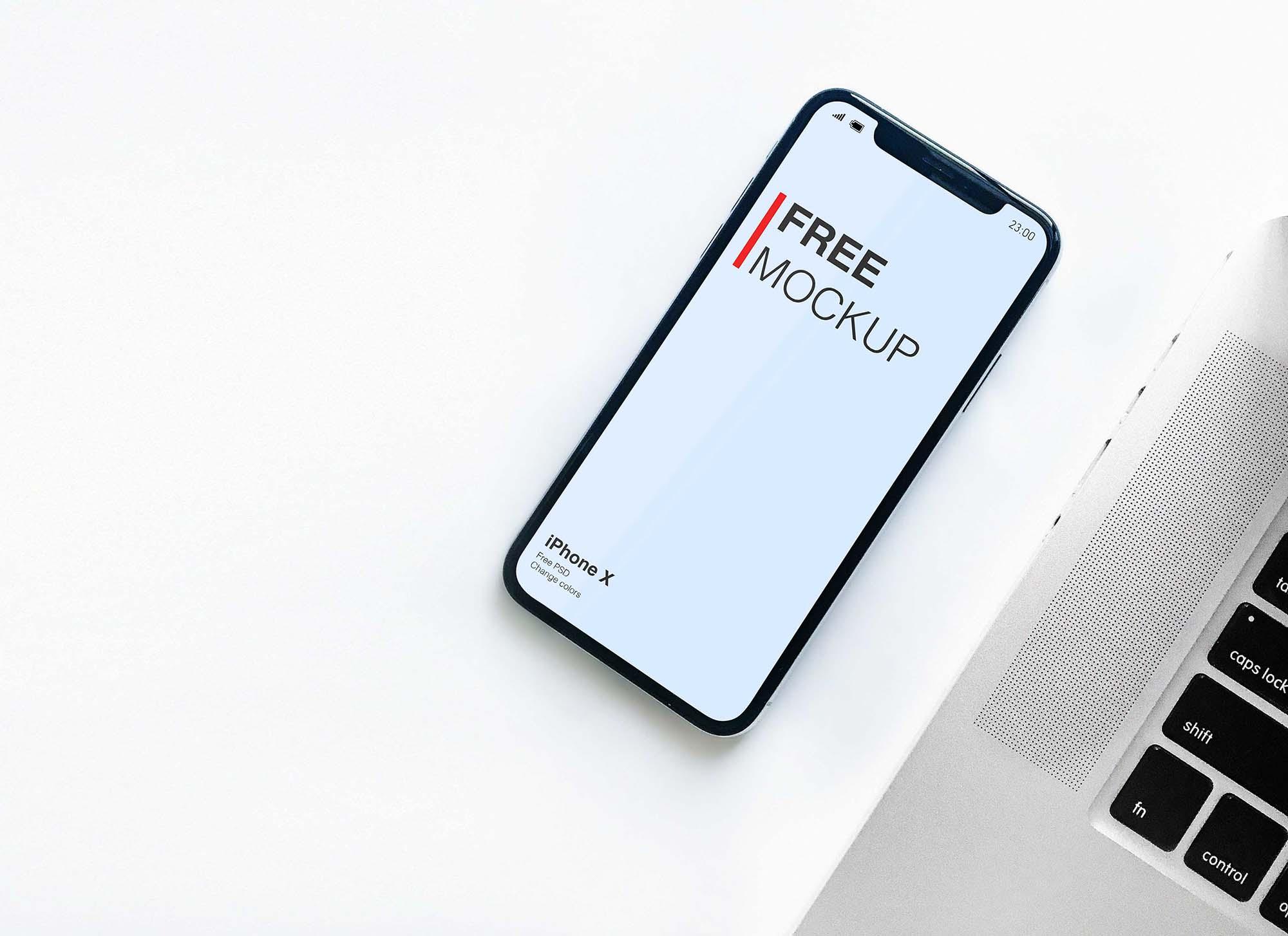 iPhone X Mockup 2