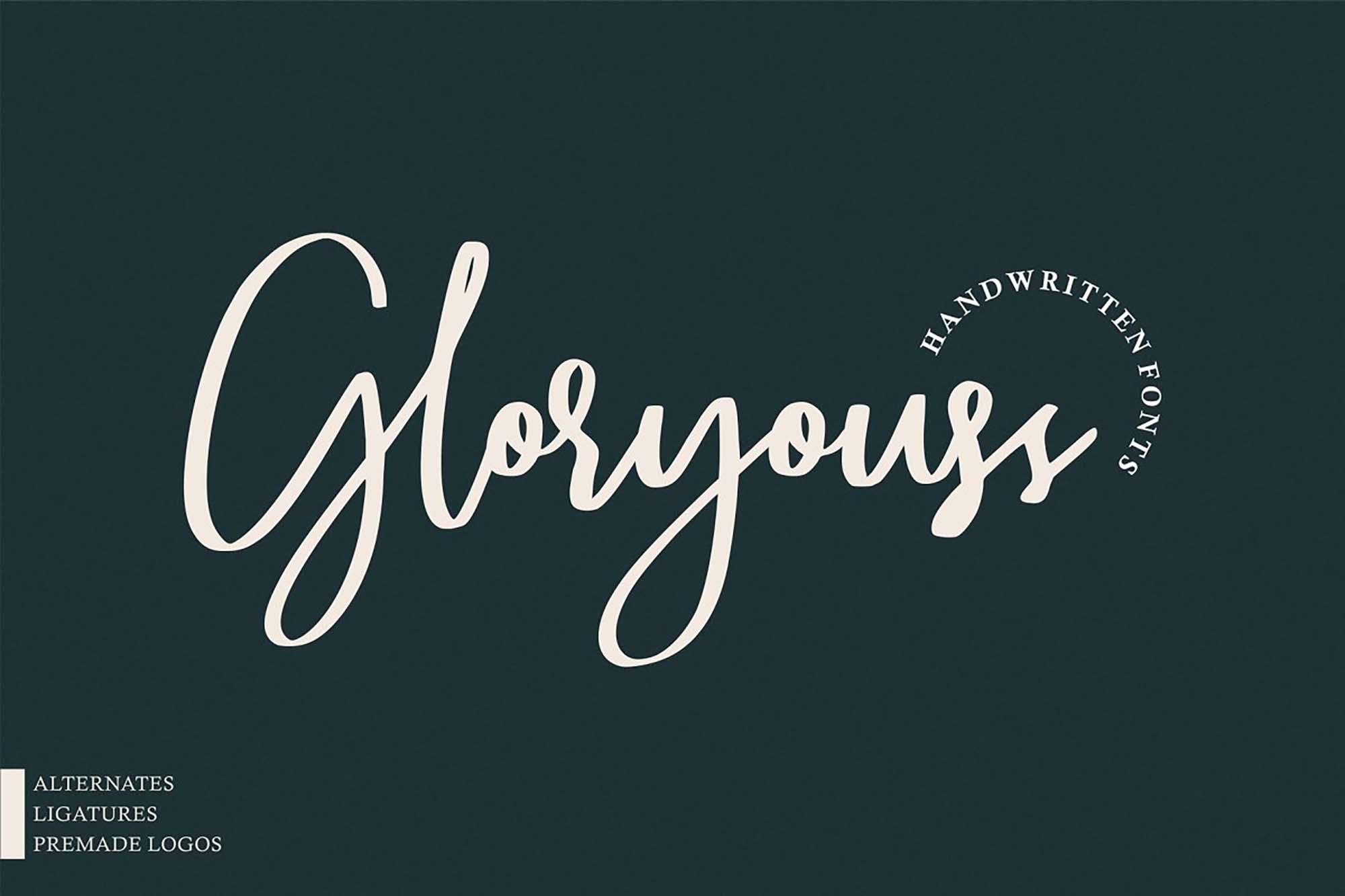 Gloryouss Handwritten Font