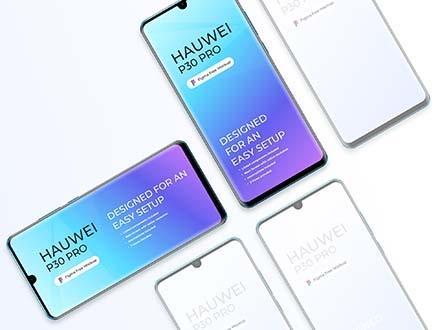 Huawei P30 Pro Mockup