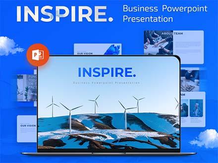 Inspire - Business Powerpoint Presentation