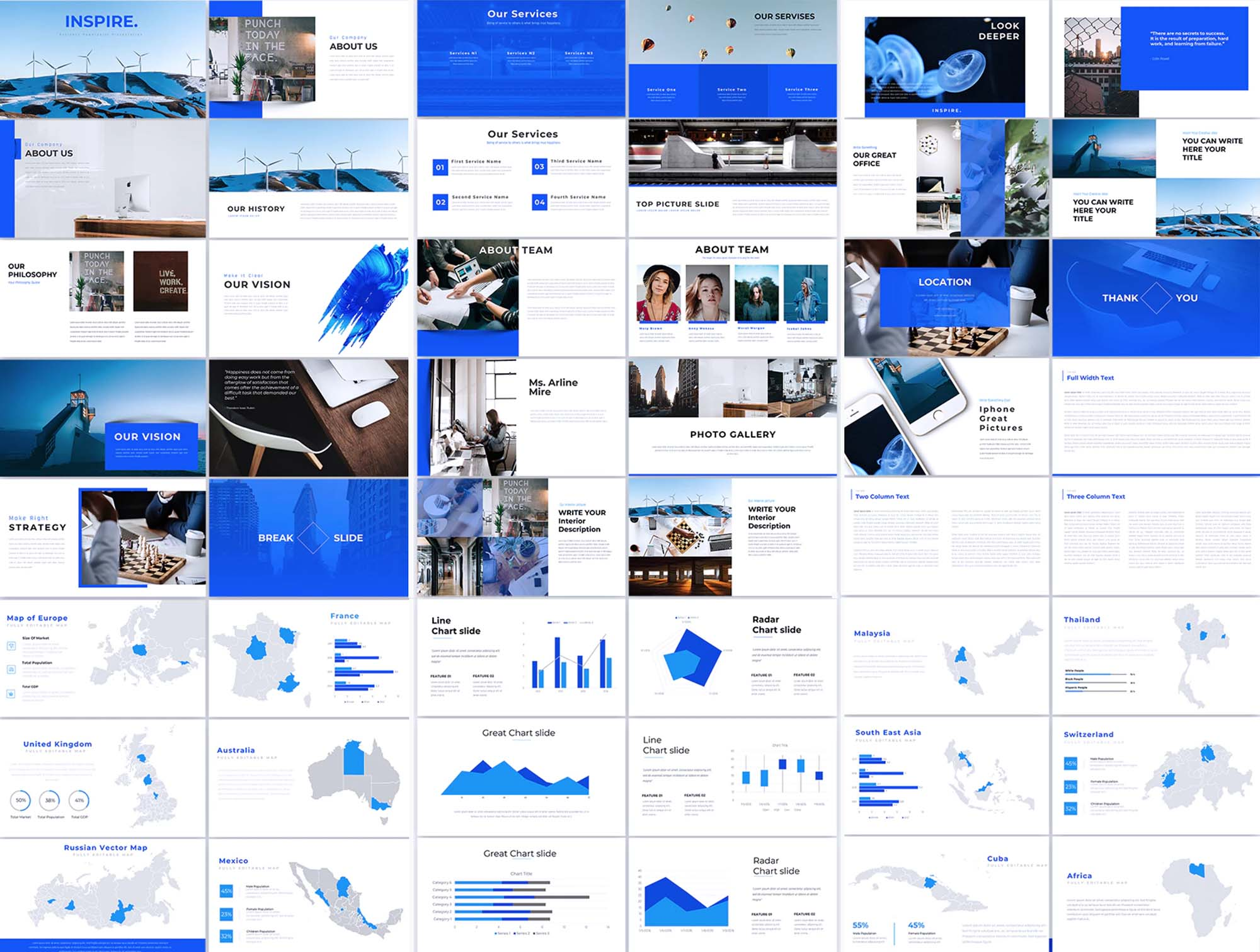 Inspire - Business Powerpoint Presentation Slides