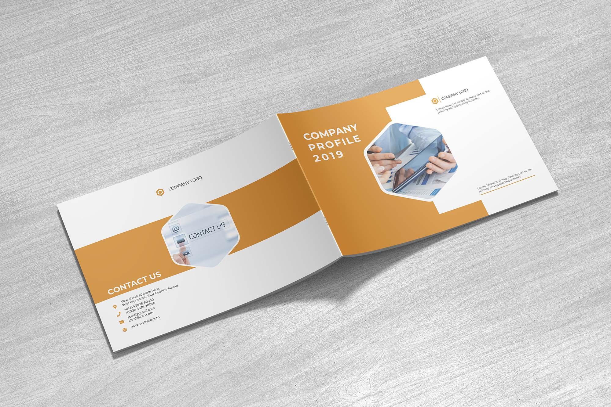 Landscape Company Profile Template & Mockup 6