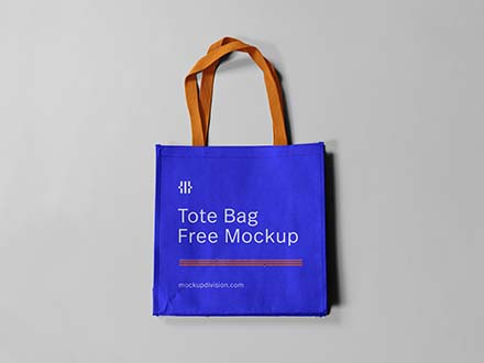 Mini Tote Bag Mockup