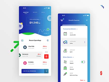 Money Spending App Template