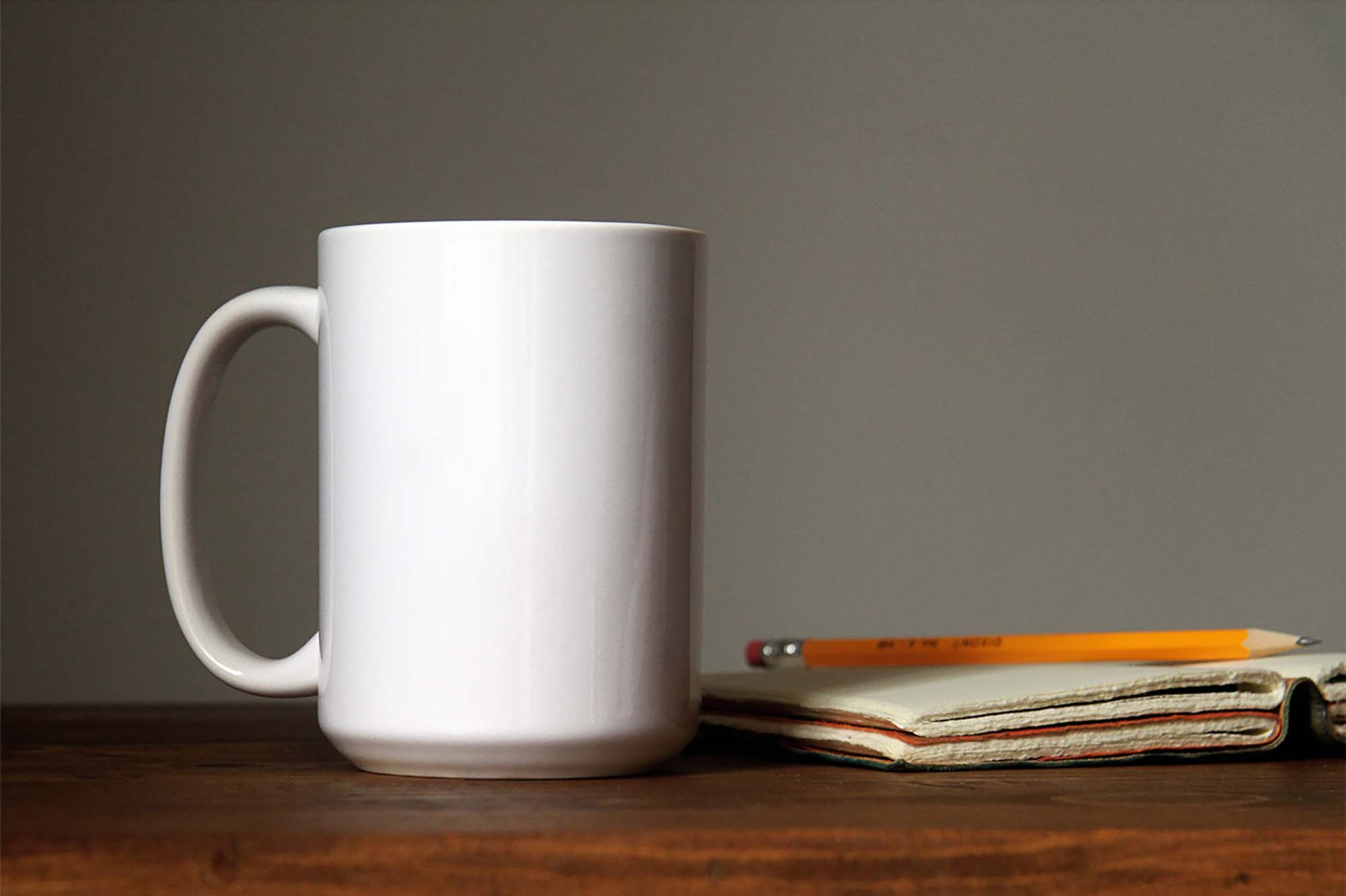 Mug Mockup on Table Mockup 2