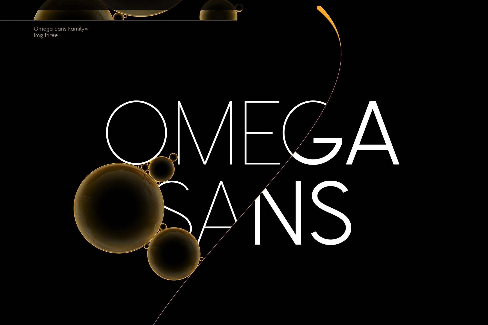 Omega Sans Font 8