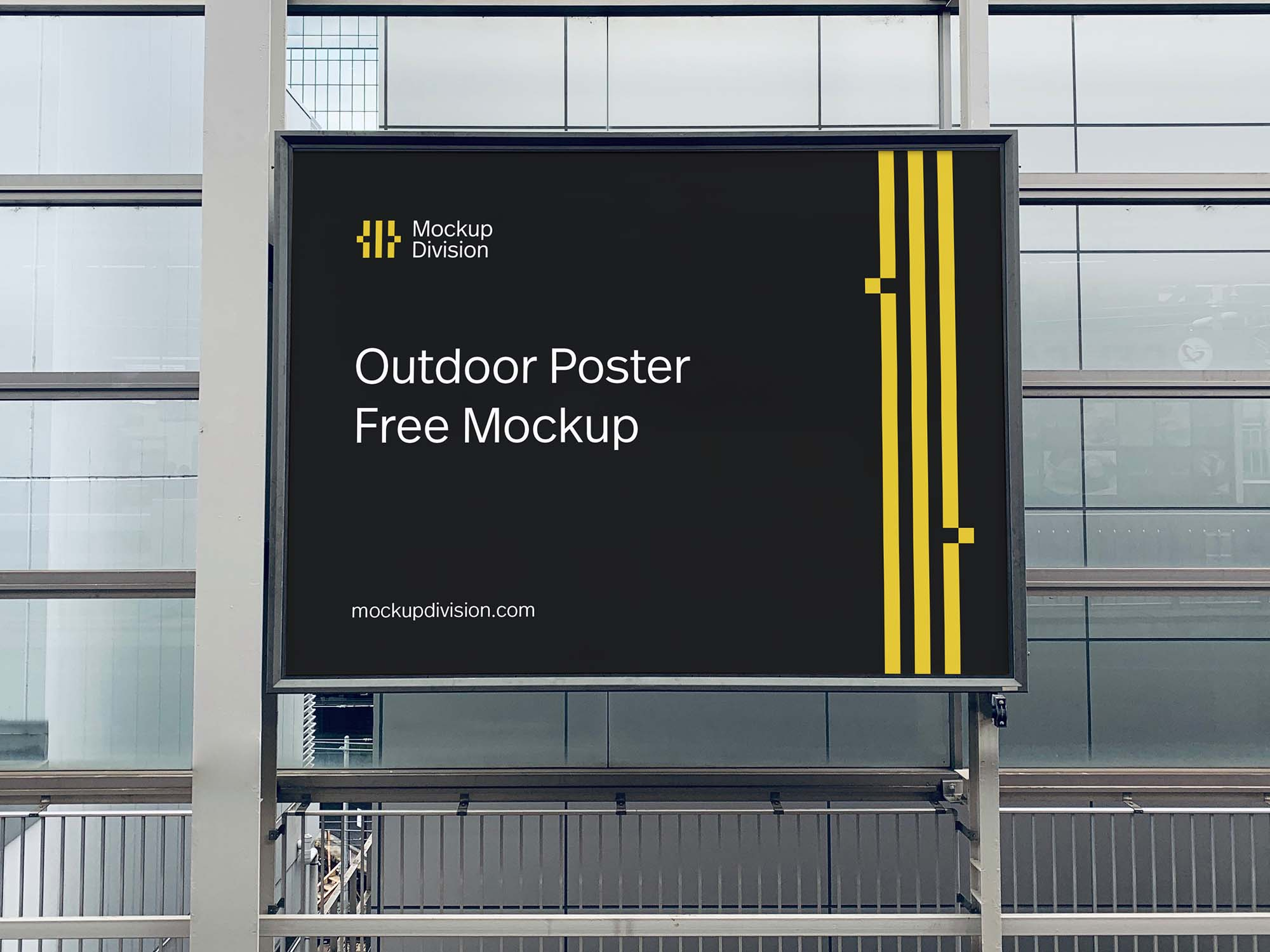Outdoor Poster Mockup 2