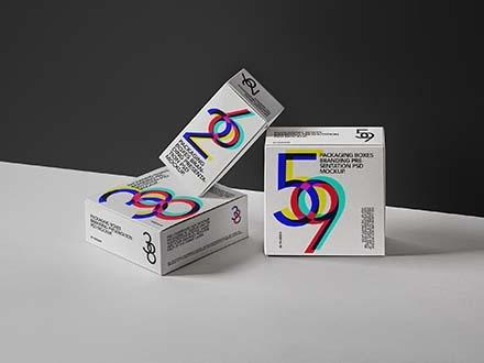 Packaging Boxes Mockup