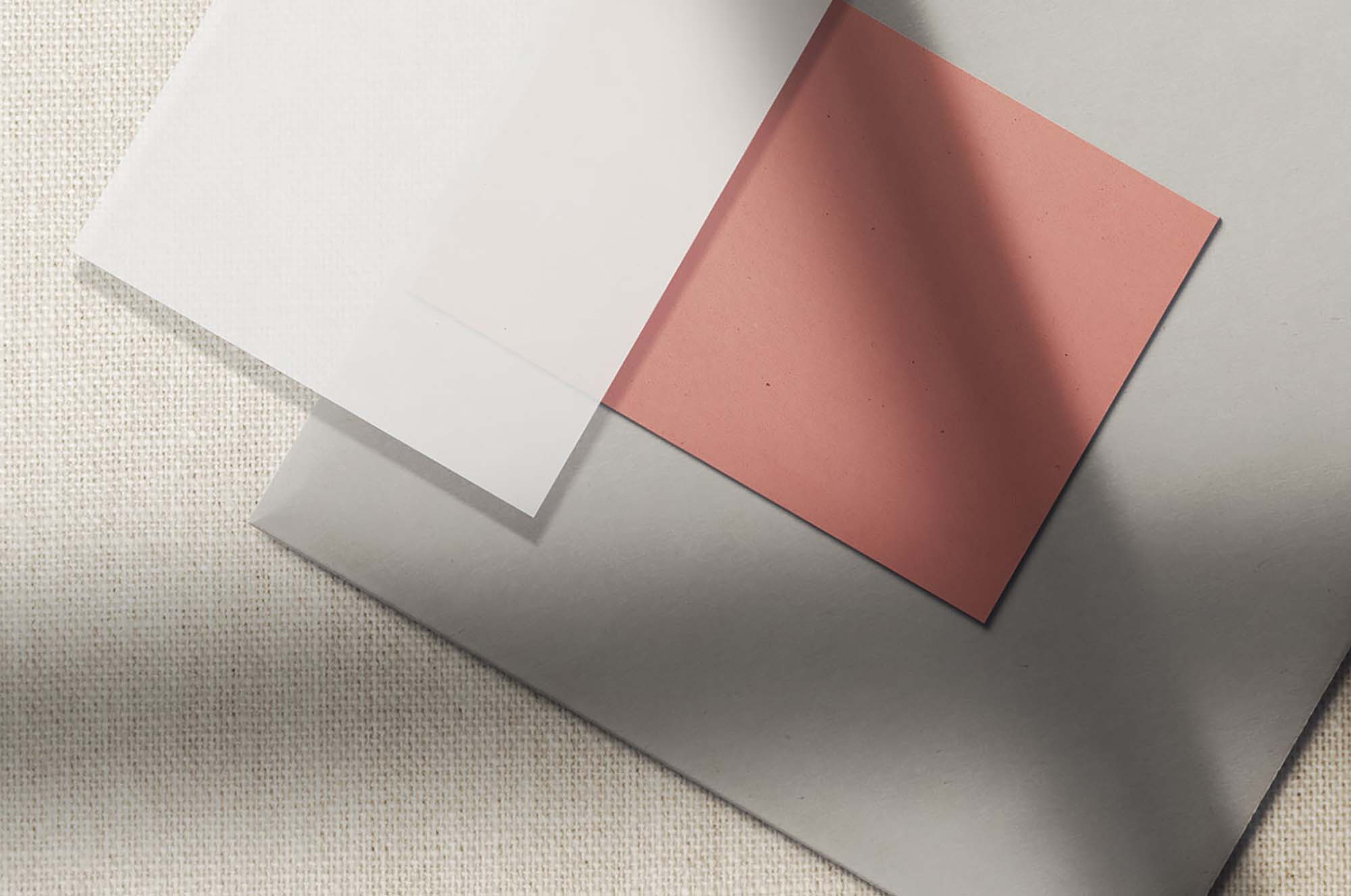 Paper Scene Branding Mockup 2
