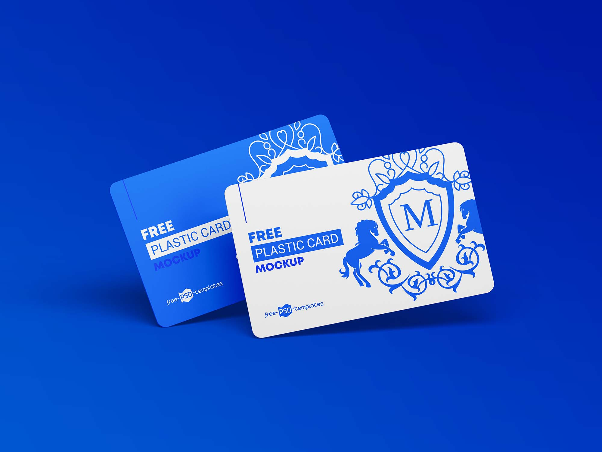 Plastic Cards Mockup 2