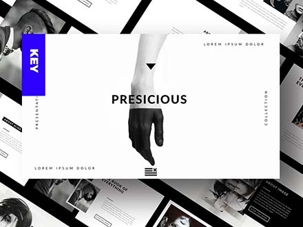 Presicious PowerPoint Presentation Template