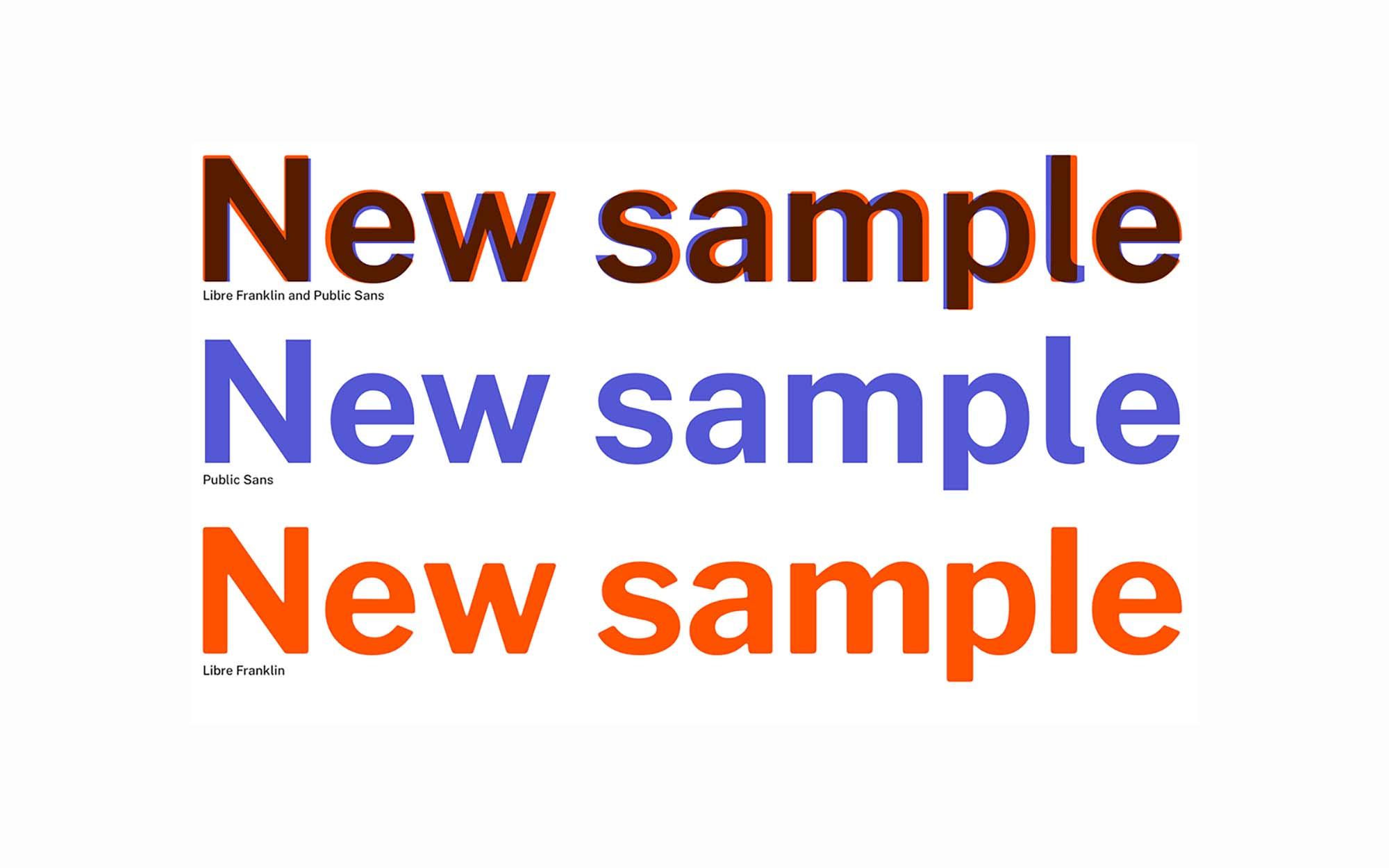 Public Sans Typeface 4