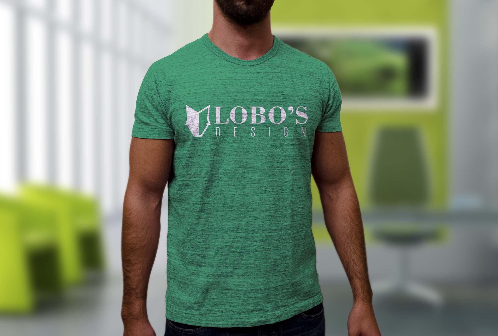 Realistic T-Shirt Mockup 2