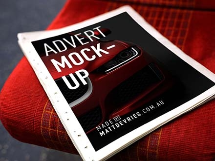Smart Newspaper Advertising Mockup