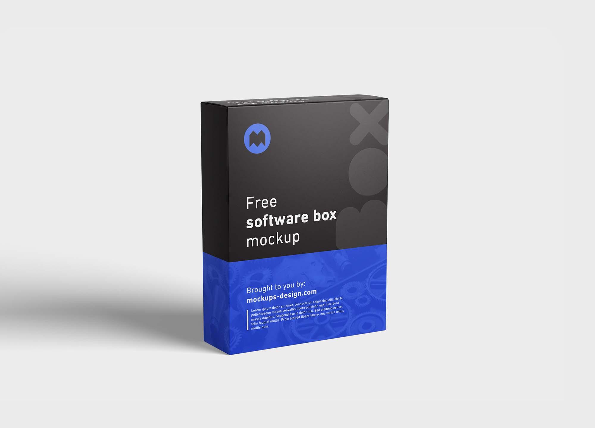 Software Box Mockup 2