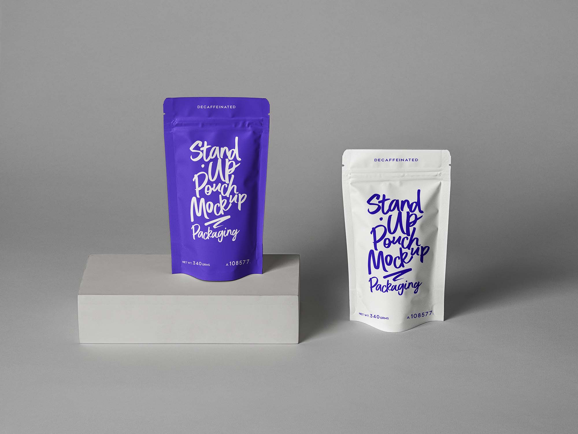 Stand Up Pouch Packaging Mockup 2