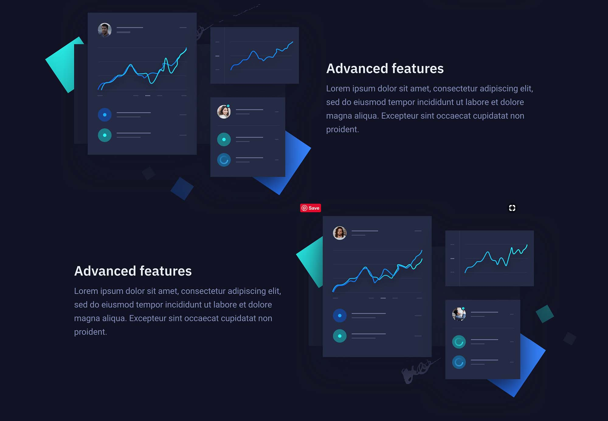 Storm Landing Page Template for Startups 3