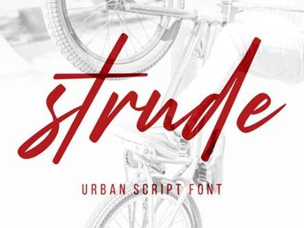 Strude Font