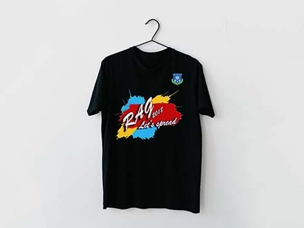 T-shirt on Hanger Mockup