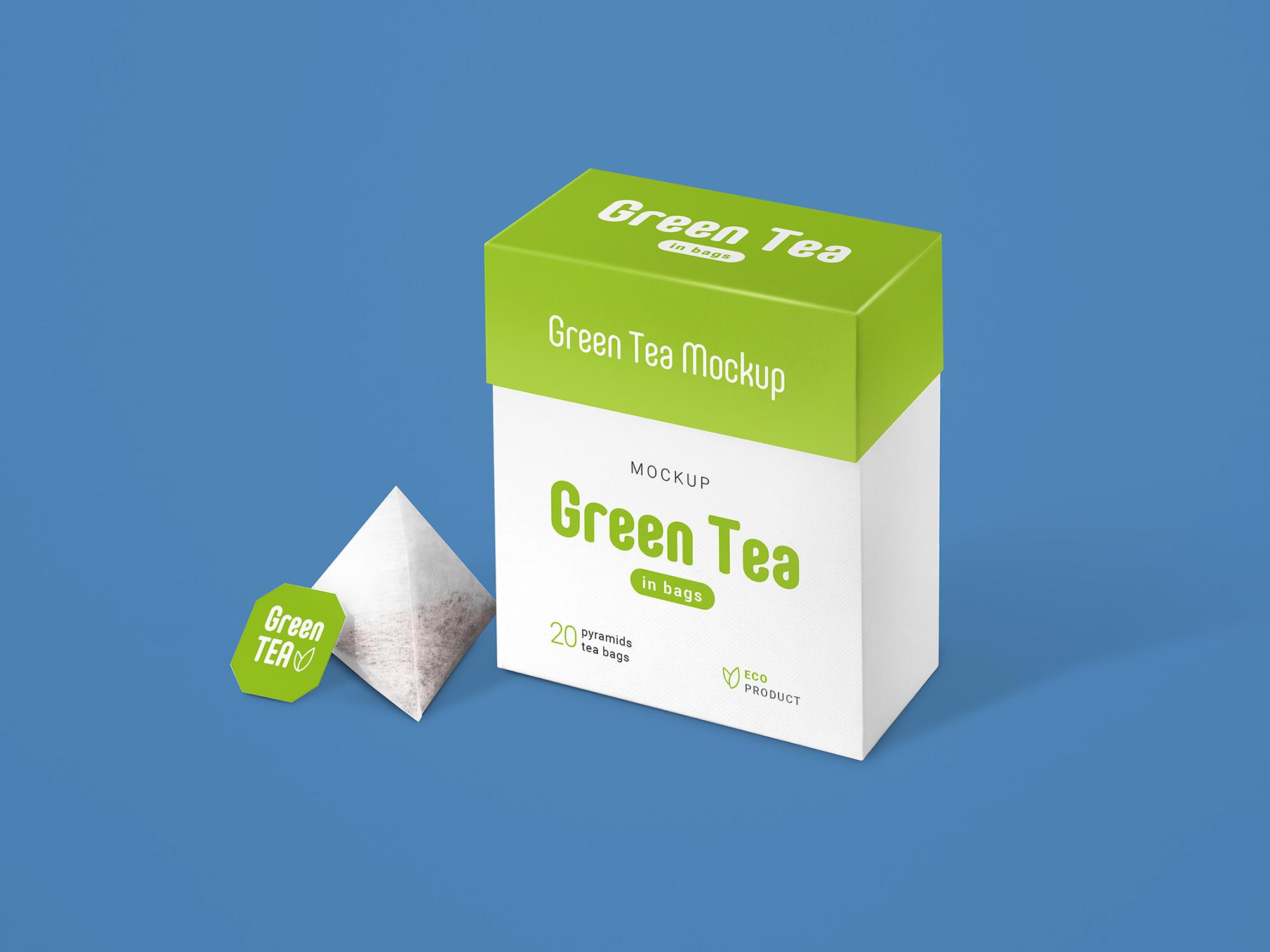 Tea Packaging Mockup 2
