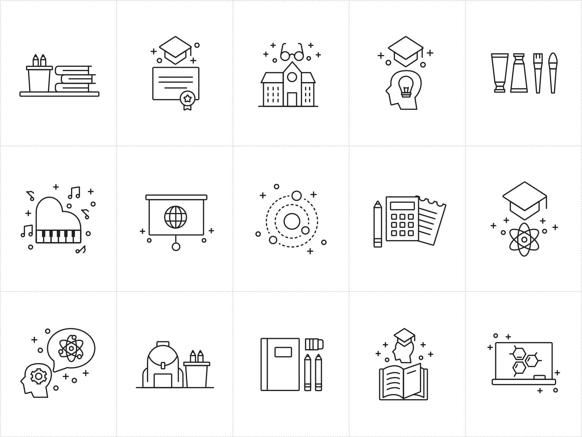 Teaching Vector Icons 2