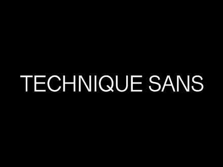 Technique Sans Font