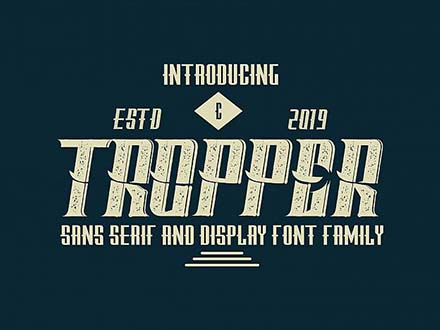 Tropper Font