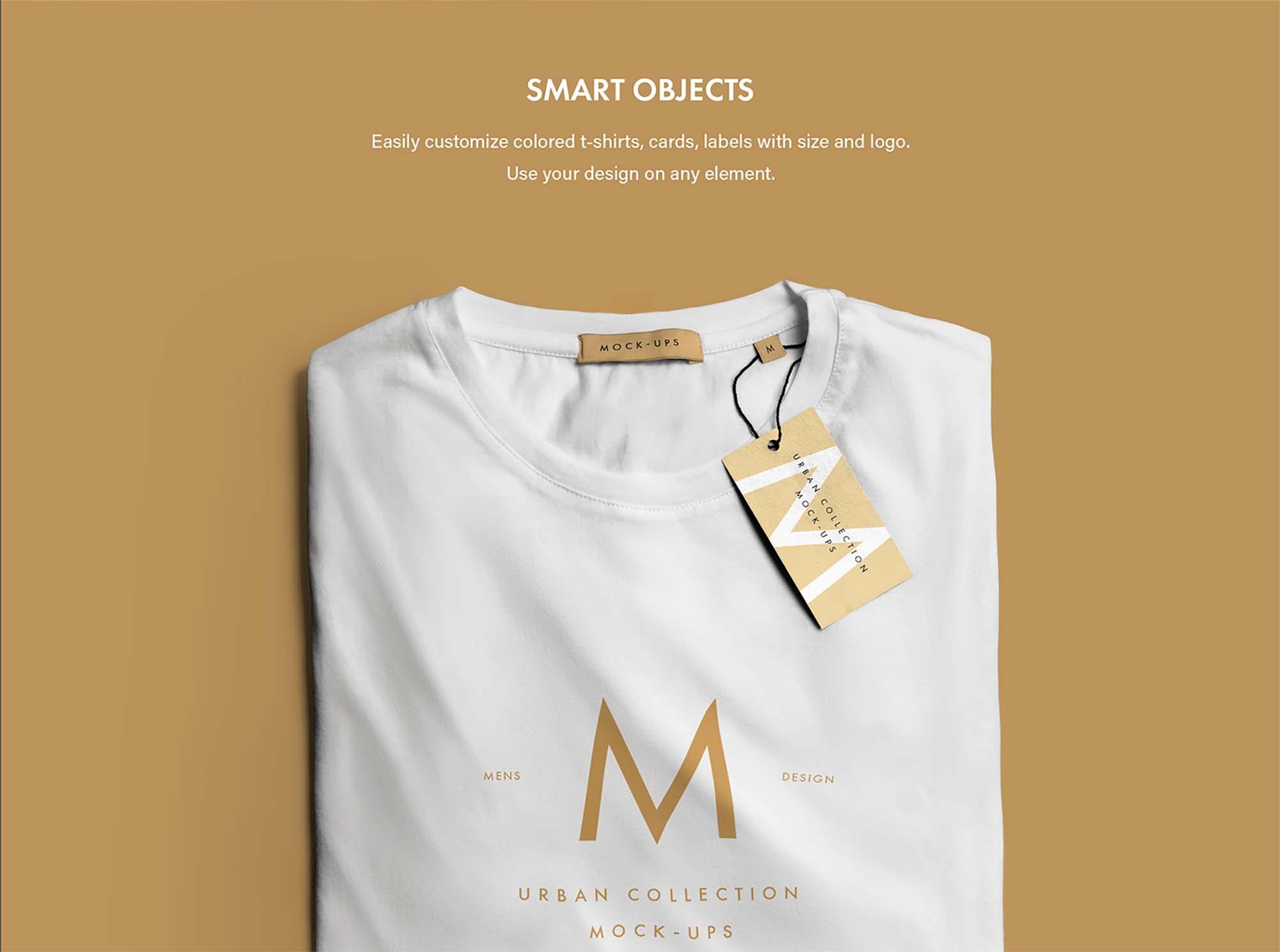 Urban T-Shirt Mockup 2