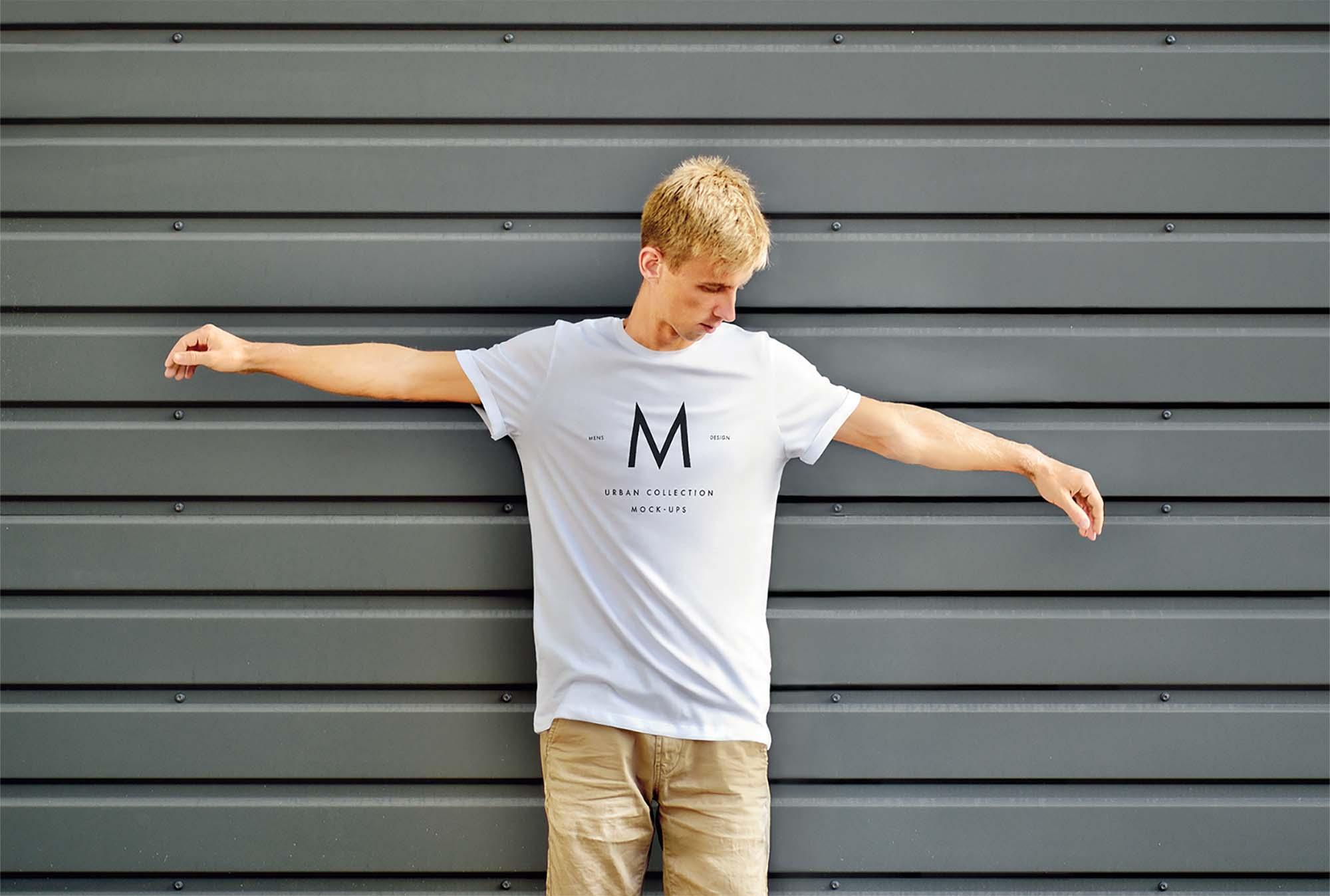 Urban T-Shirt Mockup 3
