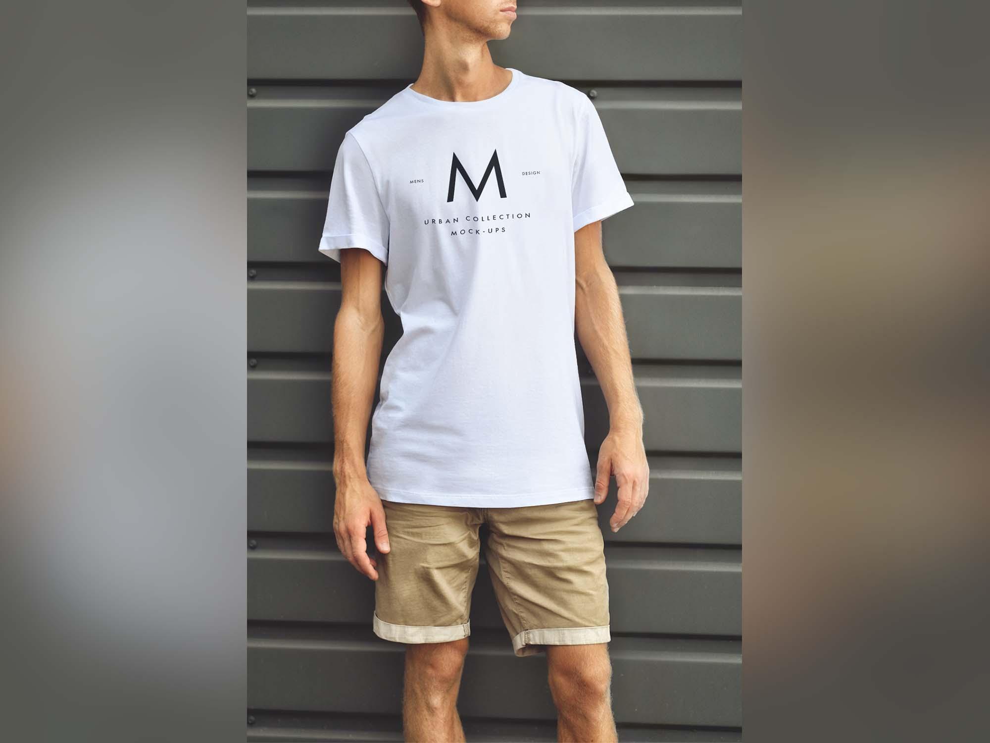 Urban T-Shirt Mockup